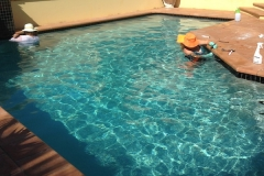 After 2 - major swimming pool renovation