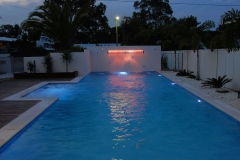 Pool Night Lighting