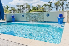 Swimming Pool With Water Feature