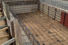 Swimming Pool Steel Construction