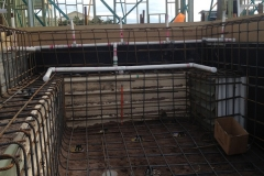Steel Cage Swimming Pool Construction